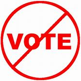 For the sake of democracy, please DON'T vote