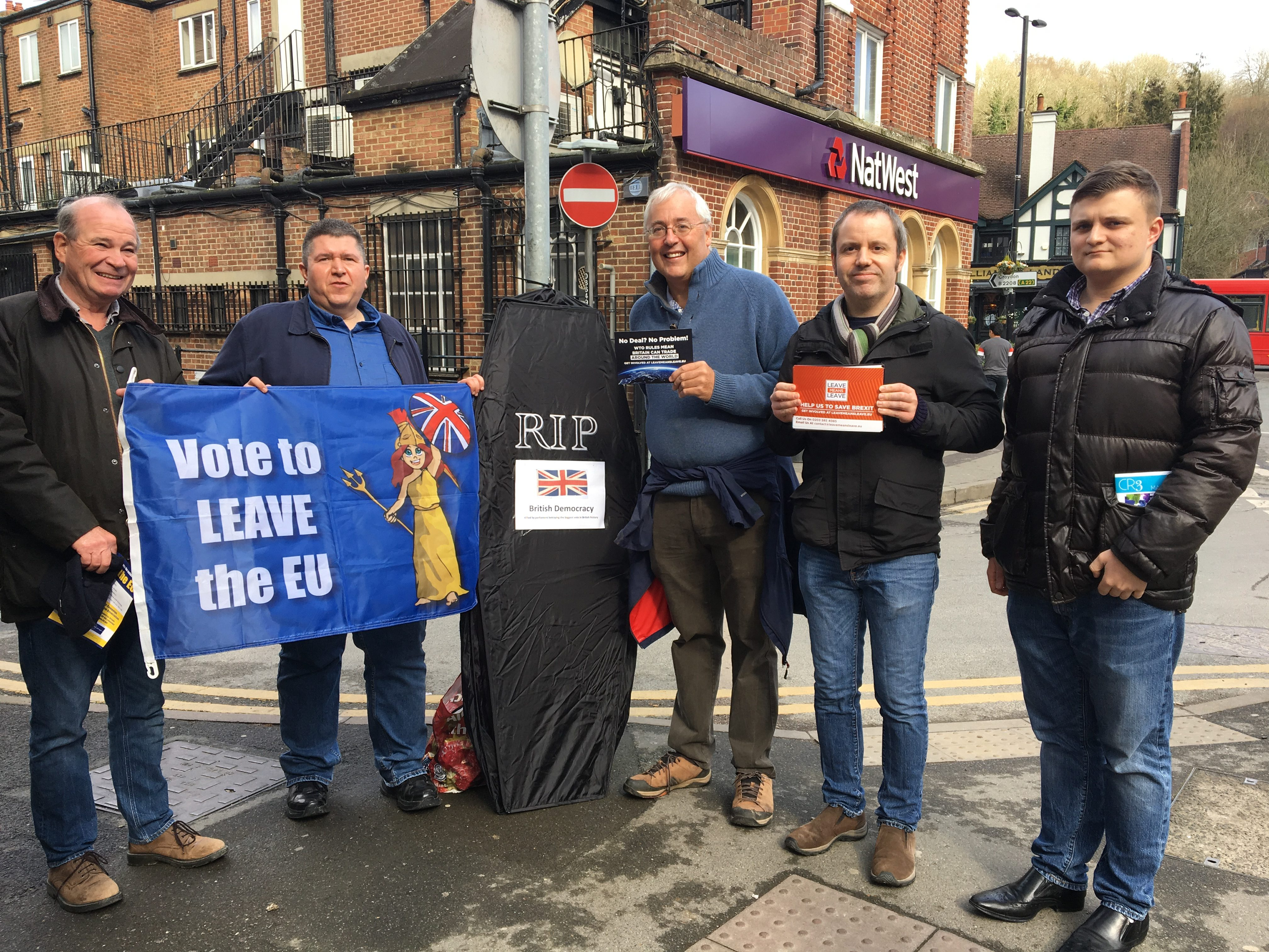 A great day in Caterham – Putting pressure on Sam Gyimah MP