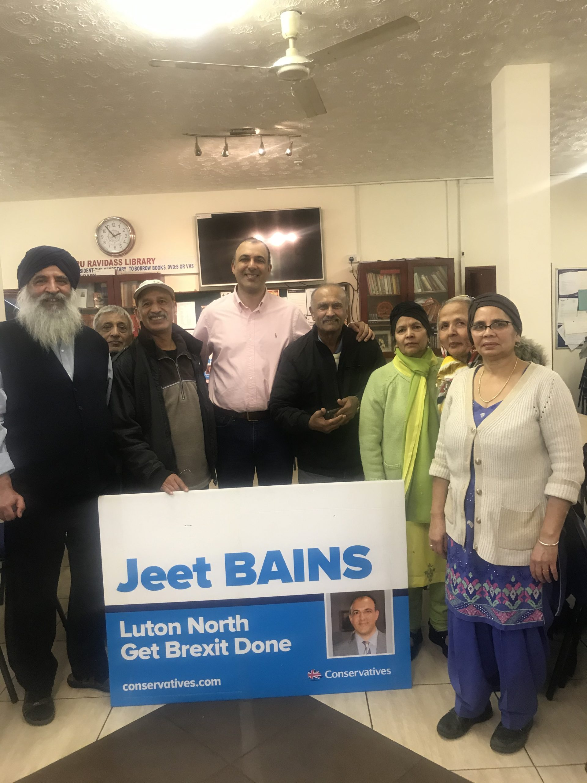 Interview with Councillor Jeet Bains, Conservative Candidate for Luton North GE2019